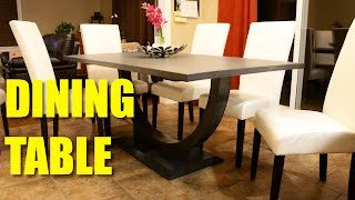 Dining Room Table - Bent Lamination