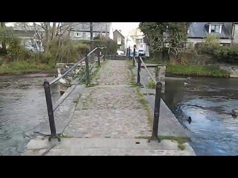 Historic bridge Newport Launceston Cornwall England UK