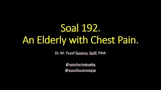 Ini adalah video edukasi tentang bagaimana kita menangani pasien dengan keluhan nyeri dada agar tida.