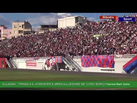 ATMOSFERE E MREKULLUESHME, VLLAZNIA - TIRANA   0 - 0