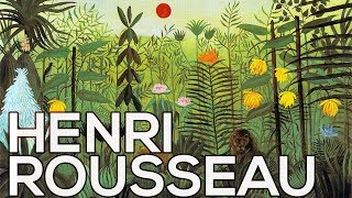 Henri Rousseau: A collection of 140 paintings (HD)