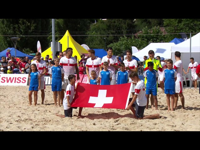 Suzuki Swiss Beach Soccer League Spiez 2016