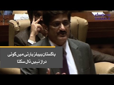 Pakistan Peoples Party Mein Koi Darar Nahi Dal Sakta - Murad Ali Shah | SAMAA TV