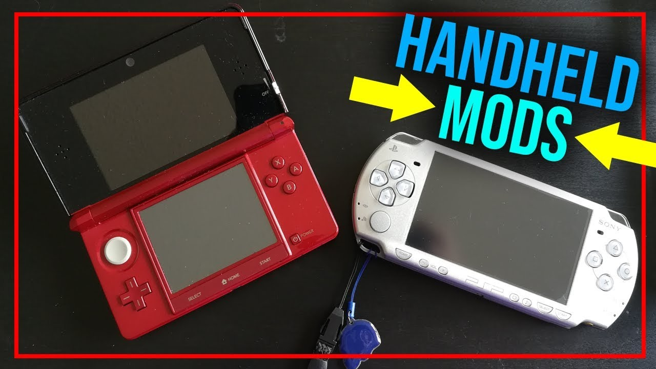 Best HANDHELD Console to Mod in 2018! PSP vs 3DS vs PS Vita