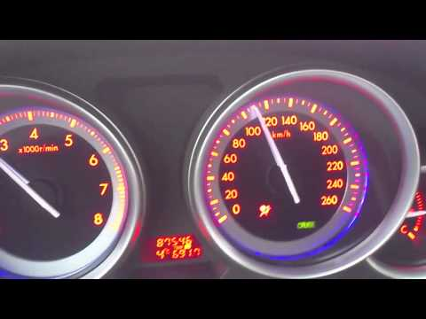 Мазда 6 2008 г. 2 литра 110км ч расход