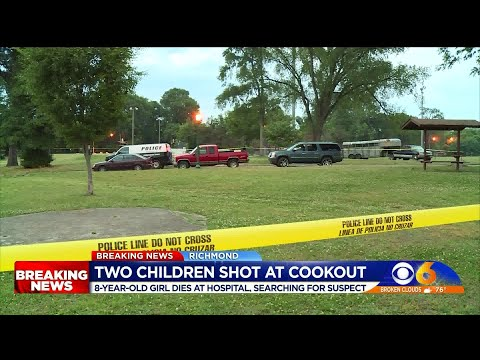 Girl Killed, Boy Injured In Shooting During Cookout At Richmond Park