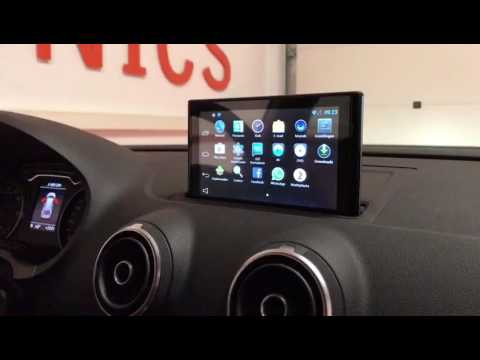 Audi A3 2016 (8V) Android upgrade with iGO navigation