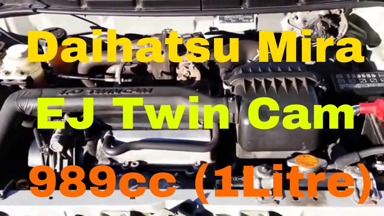 Daihatsu Ej De Wiring Diagram Sirion Ecu I3 989cc1l Twin Cam Mira 1998 Youtube Jeep