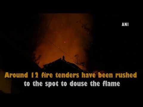 Fire breaks out in Mumbai's Navrang Studio