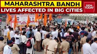 Lakhimpur Kheri Violence: Maharashtra Bandh Affects Life In Mumbai, Thane, Pune & Other Cities