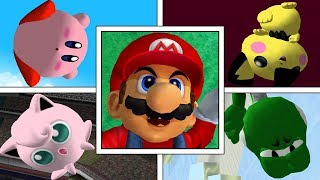 Star KO + Screen KO   All Characters   Super Smash Bros Melee   High Quality 1080p 60FPS