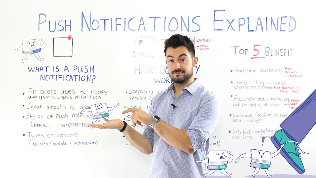 What is push notification? - Definition from WhatIs com