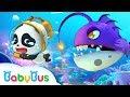 Bayi Panda Kiki Bertemu Monster Besar Yang Mengerikan | Kartun Anak | Bahasa Indonesia | BabyBus