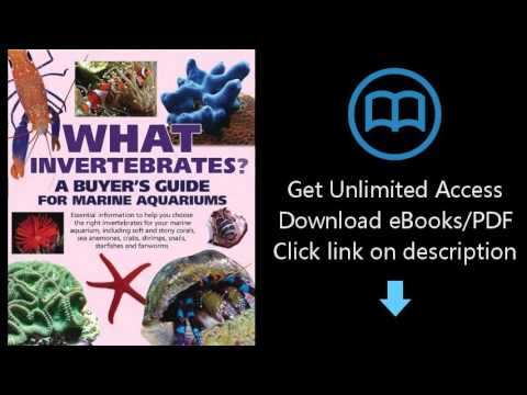 Download What Invertebrates?: A Buyer's Guide for Marine Aquariums (What Pet? Books) PDF