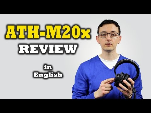 ATH-M20x REVIEW In English Headphones Under 50 $ Audio Technica