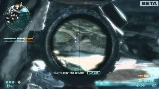 Medal of Honor - FULL pointstreak as a sniper. (All kill streak rewards)