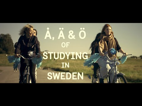 The Å, Ä, Ö of studying in Sweden