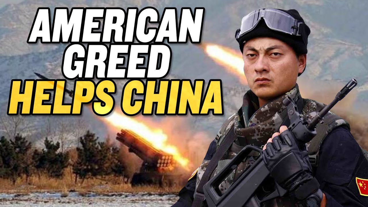 American Greed Helps China's Military Rise | China Uncensored