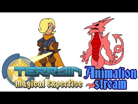 TOME RPG Animation Stream - 2/17/18