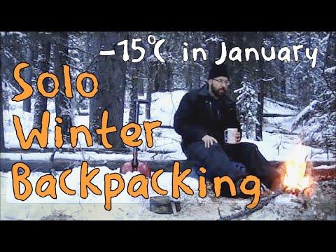 Solo winter overnight hiking trip - 3 season tent in deep cold