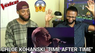 """The Voice 2017 Chloe Kohanski - The Playoffs: """"Time After Time"""" (REACTION)"""