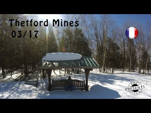 What To Do In Thetford Mines In Winter? // Audible \\ Crazydivers