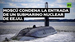 Moscú condena la entrada de un submarino nuclear de EE.UU. en un puerto noruego fronterizo con Rusia