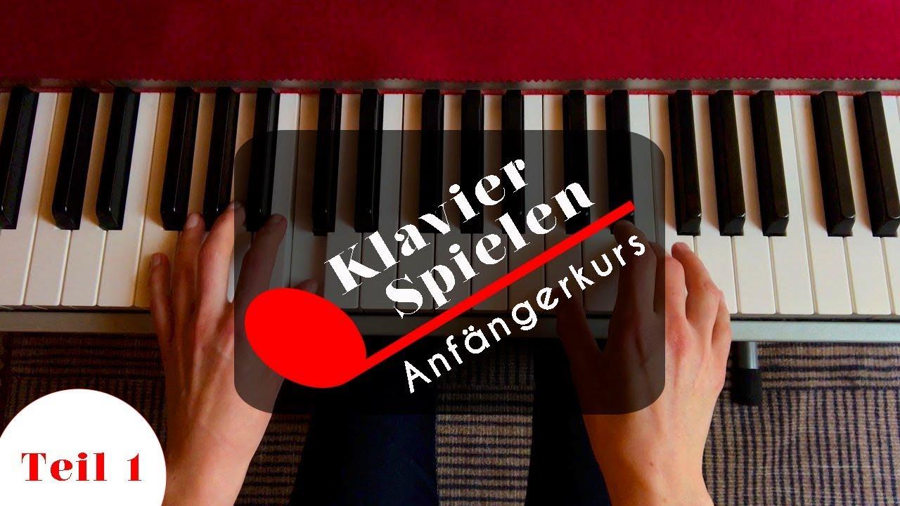 klavier spielen lernen anf ngerkurs akkorde youtube. Black Bedroom Furniture Sets. Home Design Ideas