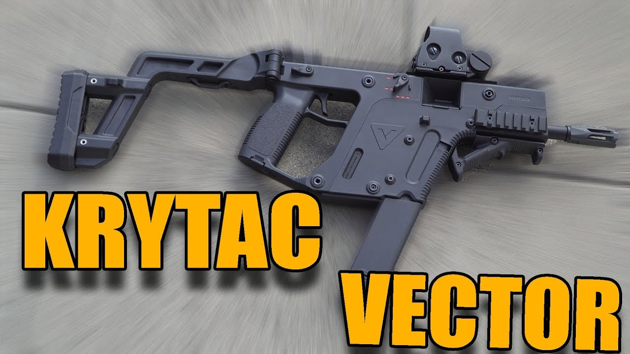 KRYTAC KRISS VECTOR Airsoft Review 0,5J Maschine GsP