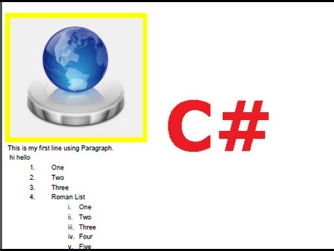 C# Tutorial 44: iTextSharp : Working with images in ...