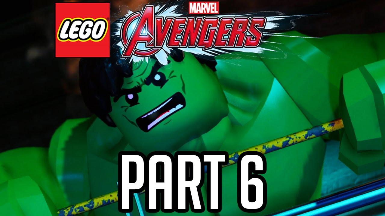 LEGO Avengers Walkthrough Part 6 - Hulk Chase!! (Gameplay ...