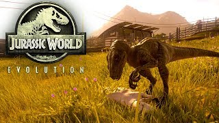 Jurassic World Evolution #044 | Die kleinen haben HUNGER | Gameplay German Deutsch thumbnail