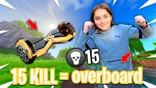 15 KILL = 1 OVERBOARD POUR CE KIKOU SUR FORTNITE !