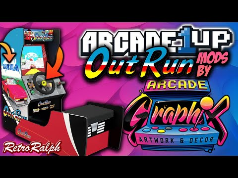 Arcade1up Outrun Graphics MOD - Make it look MORE Authentic! from Retro Ralph