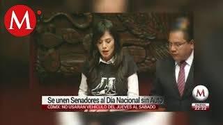 Senadores se unen al Día Nacional sin Auto en CDMX