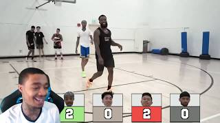 Reacting To INTENSE King Of The Court ft. RiceGum, Flight, McQueen & Kenny!