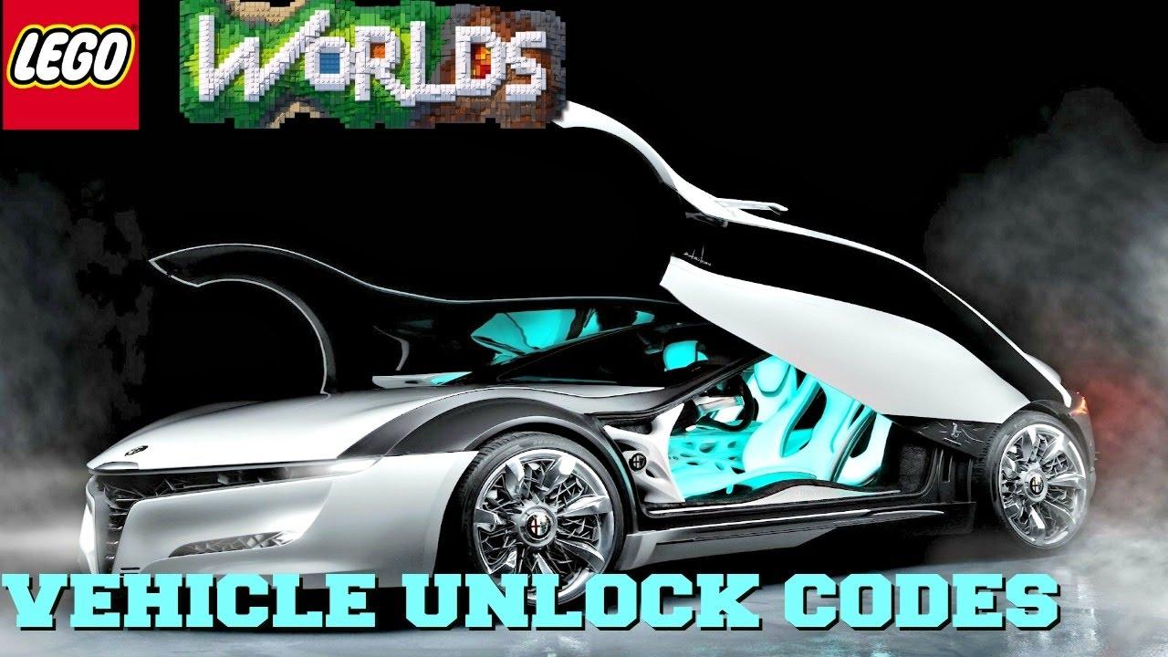 <b>LEGO WORLDS Xbox One</b> Vehicle <b>Codes</b> - YouTube