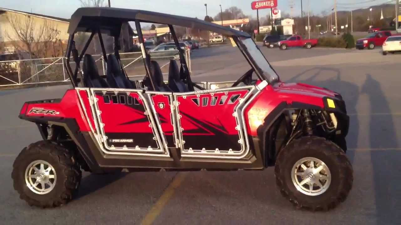 medium resolution of 2012 polaris ranger rzr 4 800 with pro armor doors and graphics at tommy s motorsports youtube