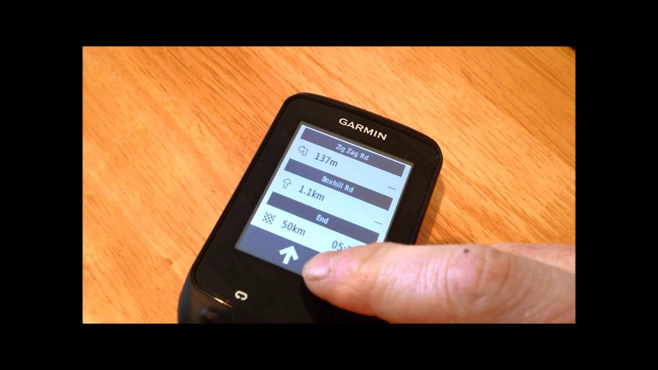 How To Create And Upload A Route To A Garmin Edge 510 - Sportive Cyclist