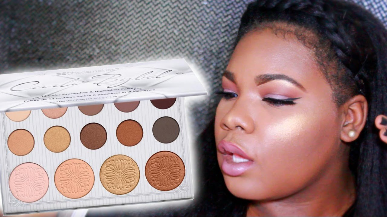 Carli Bybel  Color Eyeshadow Highlighter Palette Review