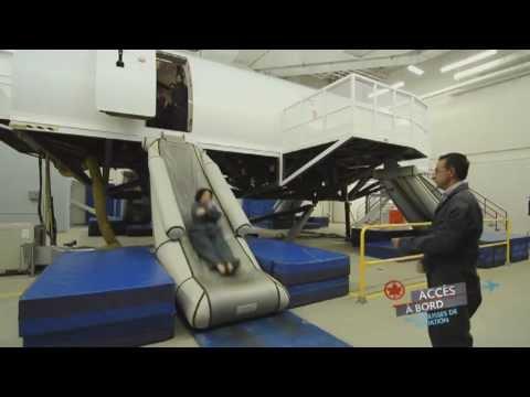 Accès à bord d'Air Canada: La formation des agents de bord