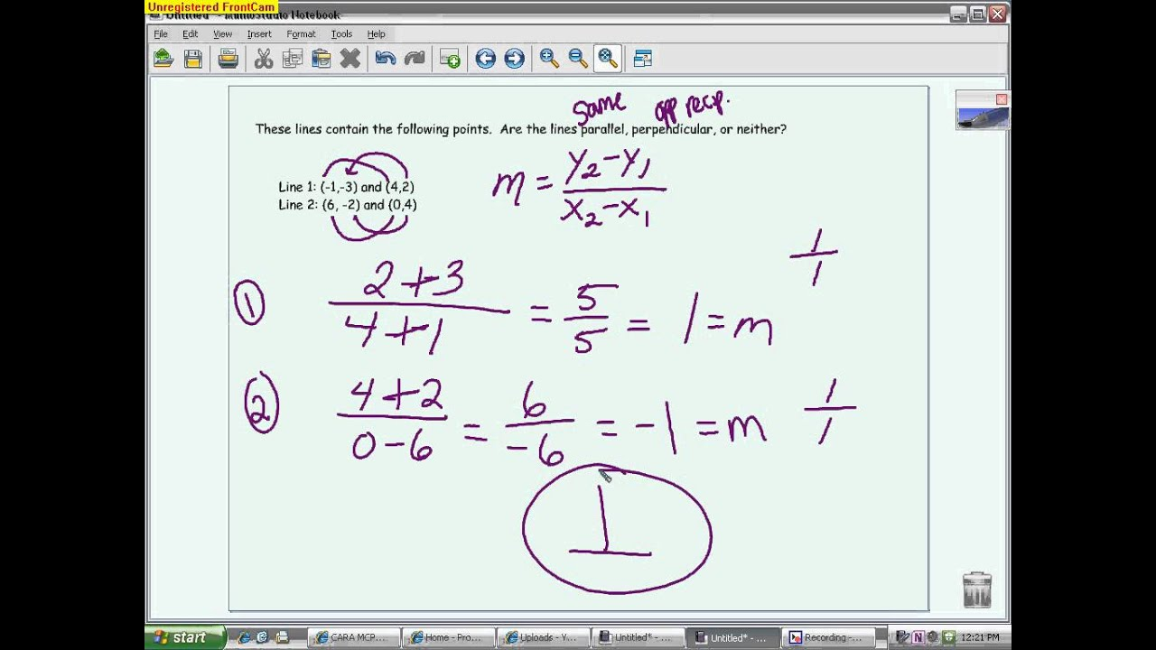 Quiz Review 2 1 2 3 Functions Domain Range Slope And Graphing