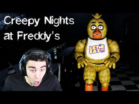CHICA'S BACK AND SHE'S CREEPIER THAN EVER!!!! - Creepy Nights at Freddy's (Nights 1 & 2) thumbnail