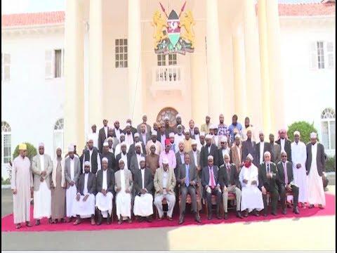 Muslim leaders back President Uhuru Kenyatta's re-election