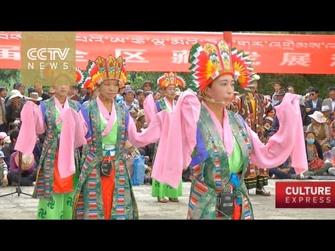 Tibetan Opera and scroll painting enjoy government support
