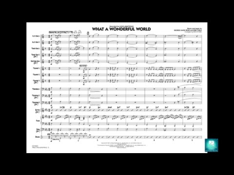 What a Wonderful World arranged by Rick Stitzel