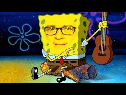 weezer albums portrayed by spongebob