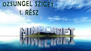 Az első Videó! -  Minecraft - Jungle Island 1.Rész