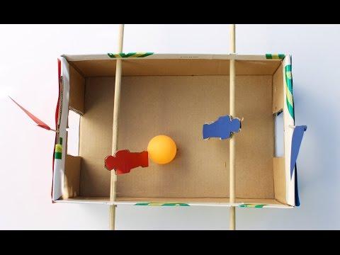 יצירת משחק מקופסאת נעליים