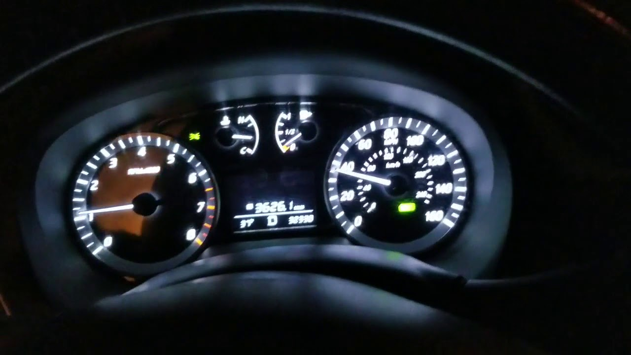 Nissan Sentra No Acceleration Cruise Control Light Flashing When Headlights On Fixed